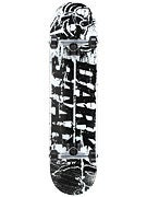 Darkstar Splatter Black/White Complete  7.6 x 31