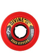 Divine Road Ripper 78a Wheels  Trans Red