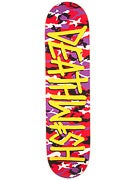 Deathwish Deathspray Camo Red/Purple Deck  8.125 x 31.5