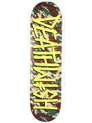 Deathwish Deathspray Camo/Yellow Deck  8.475 x 31.875