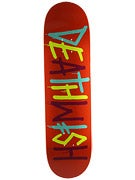 Deathwish Deathspray Multi Org/Blue/Yel Deck 8.38x31.75
