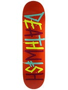 Deathwish Deathspray Multi Org/Blue/Yel Deck 8.0 x 31.5