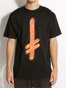 Deathwish Gang Logo Fire T-Shirt