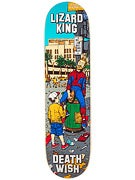 Deathwish Lizard King Walk Of Fame Deck  8.25 x 31.5