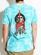 Deathwish Sword And Mule Marble T-Shirt