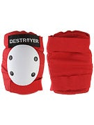 Destroyer Amateur Elbow Pads  Red/White