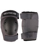 Destroyer Professional Elbow Pads  Grey/Black