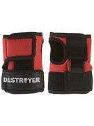 Destroyer Wrist Guards Red