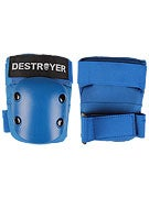 Destroyer Recreational Elbow Pads  Blue