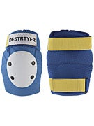 Destroyer Professional Elbow Pads Blue/White