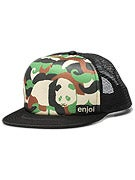 Enjoi Camoustache Trucker Hat