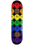 Enjoi Frowny Faces Black Impact Deck 8.0 x 31.6