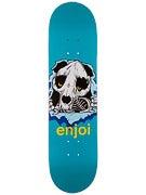 Enjoi Panda Ripper Turquoise Deck  8.1 x 31.8