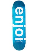 Enjoi Sprayed Spectrum Blue Deck  8.38 x 31.8