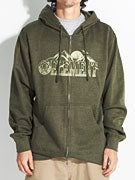 Element Mountain Tops Hoodzip