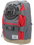 Element Mohave Backpack Stone Grey/Fire Red