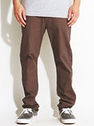 Element Owen Twill Pants  Dark Grey