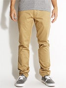 Element Outkast Chino Pants  Dark Khaki