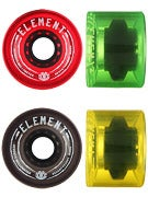 Element Travel Well Boardwalk Spinner Rasta 78a Wheels