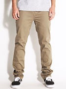 Emerica Reynolds Slim Chino Pants  Khaki