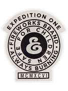Expedition One Always Burning Sticker  Grey