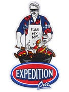 Expedition One Blue Ribbon Sticker