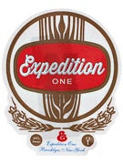Expedition One Finest Sticker  Gold