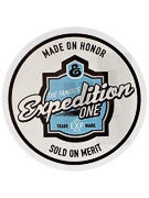 Expedition One Gansett Sticker  White/Blue
