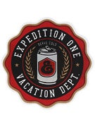 Expedition One Vacation Sticker