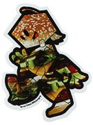 Filmbot Vice Undercut Sticker Burger