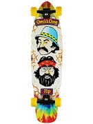 Flip Cheech and Chong Shred Sled Complete  9.3 x 36