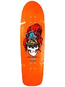 Flip Mountain Brigadier Orange Deck  9.5 x 32.75