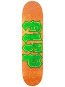 Flip Thrashed Orange/Green Deck  7.88 x 32