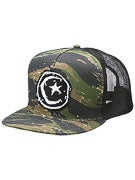 Foundation Star & Moon Patch Mesh Hat