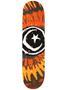 Foundation Star & Moon Tie Dye Red Deck  7.875 x 31.25