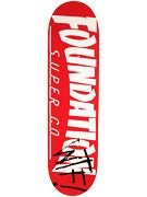 Foundation Thrasher WTF Red Deck 8.375 x 31.75