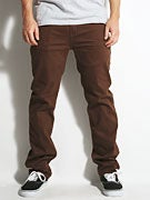 Footprint Brezinski Double Stretch Chino Pant Brown