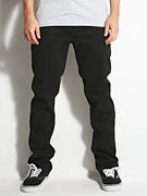 Footprint Fernandez Double Stretch Chino Pant Black