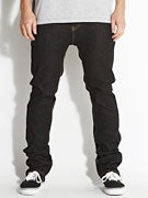 Footprint Midgar Kingfoam Stretch Jeans Black