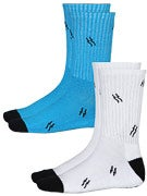 Fourstar BA Bolts Hi Socks 2 Pack