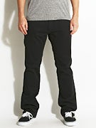 Fourstar Carroll Straight Slim Chino Pants  Black