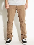 Fourstar Carroll Straight Slim Chino Pants  Dark Putty