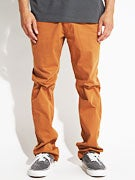 Fourstar Carroll Straight Slim Chino Pants  Camel