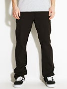 Fourstar Collective Straight Slim Chinos  Black