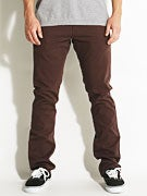 Fourstar Collective Straight Slim Chinos Cocoa