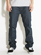 Fourstar Ishod Straight Slim Jeans  Blue Slate