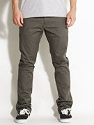 Fourstar Koston Straight Slim Chino Pants  Charcoal