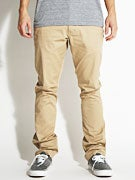 Fourstar Koston Straight Slim Chino Pants Khaki