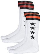 Fourstar League Hi Socks 2 Pack