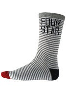 Fourstar Mini Stripe Crew Socks